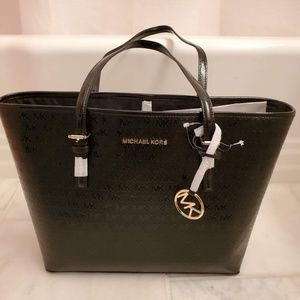 NWT Authentic Michael Kors MD Carry-All Tote